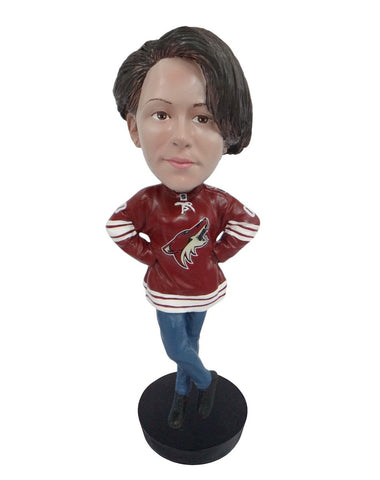 Arizona Coyotes Female Fan Standard Base