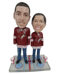 Arizona Coyotes Male and Female Fans