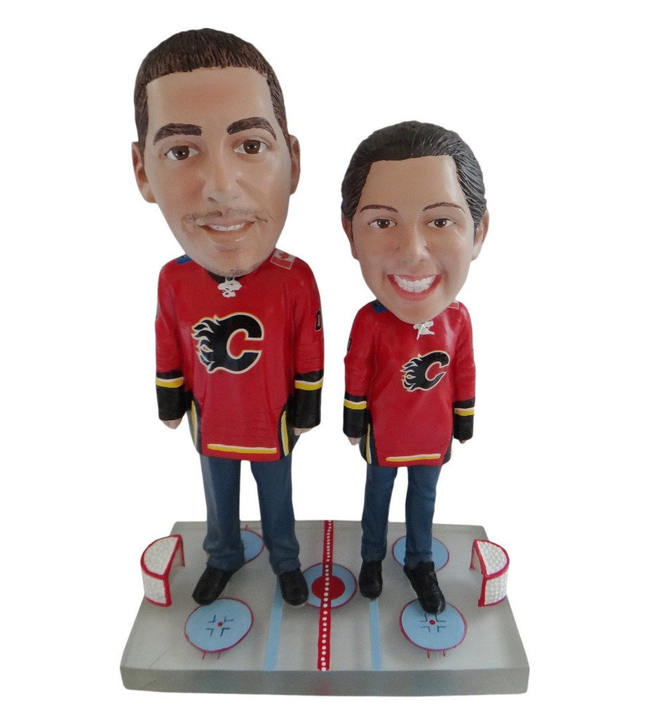 Calgary Flames Male and Female Fans