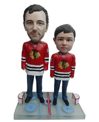 Chicago Blackhawks Father and Son Fans