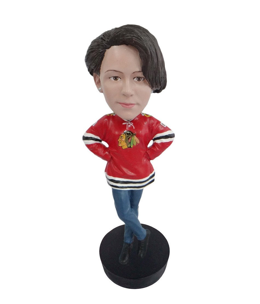 Chicago Blackhawks Female Fan Standard Base