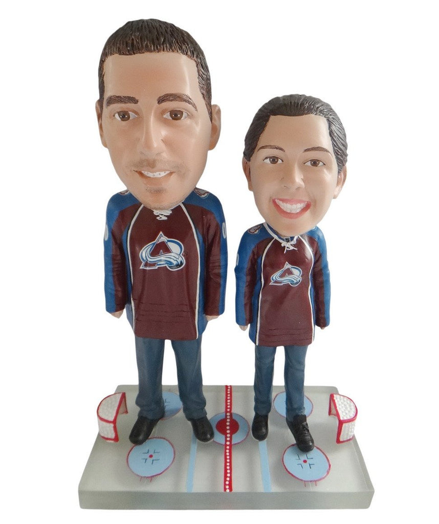 Colorado Avalanche Male and Female Fans