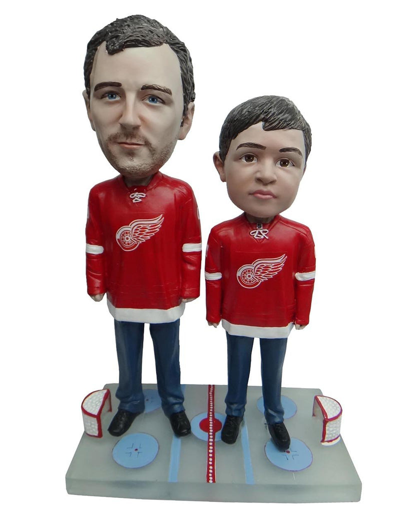 Detroit Red Wings Father and Son Fans