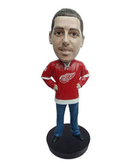 Detroit Red Wings Male Fan Standard Base