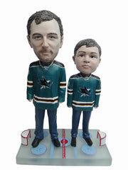 San Jose Sharks Father and Son Fans