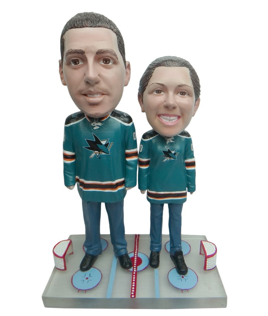 San Jose Sharks Male and Female Fans