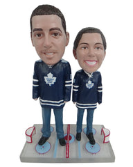 Toronto Maple Leafs Male and Female Fans