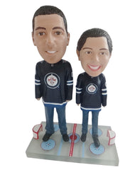 Winnipeg Jets Male and Female Fans