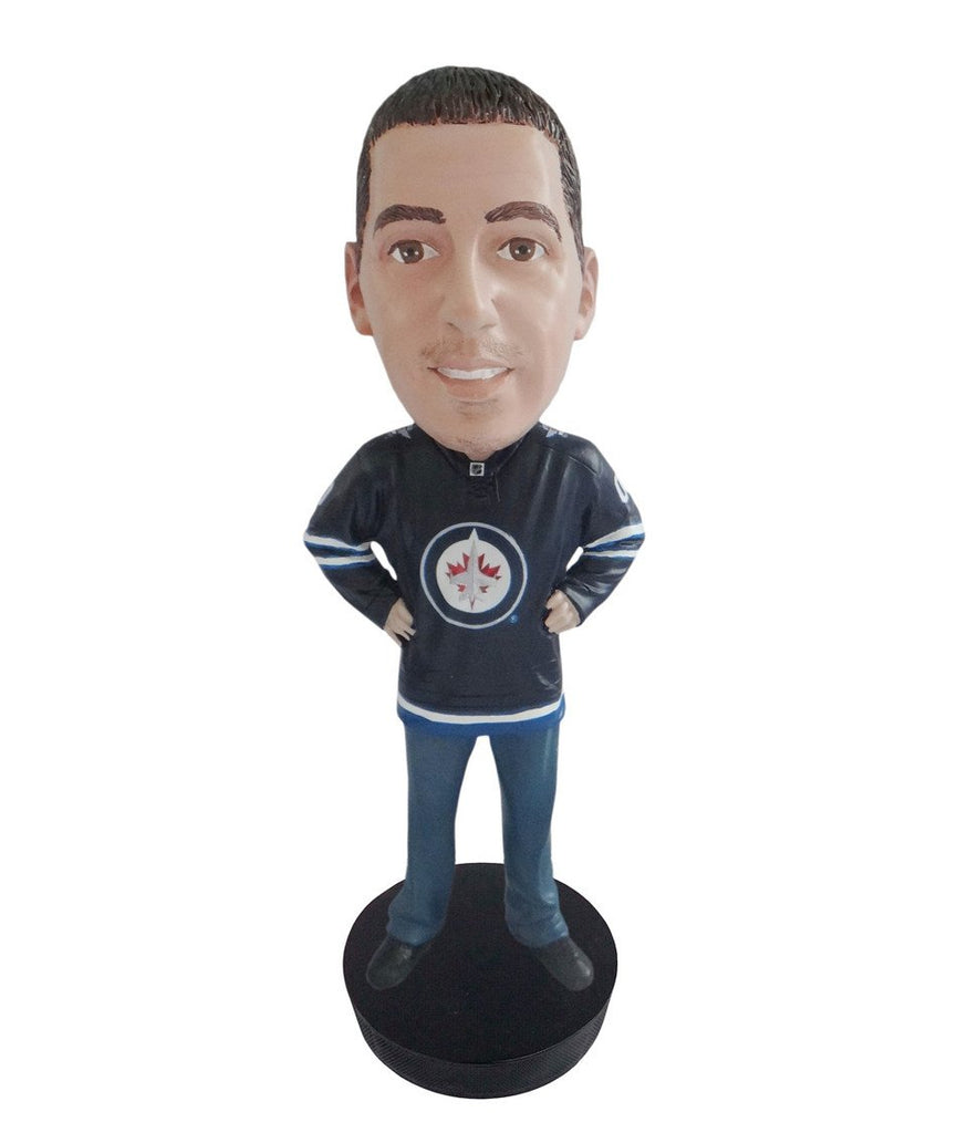 Winnipeg Jets Male Fan Standard Base