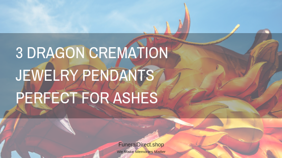 Dragon Cremation Jewelry