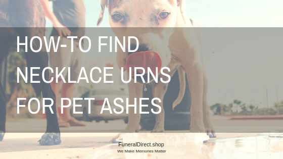 Necklace Urns for Pet Ashes