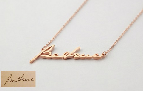 necklace with kids names