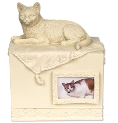 Cat Shaped Urns for Human Ashes