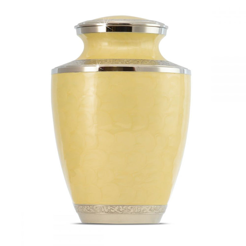 Yellow Adult Brass Urn