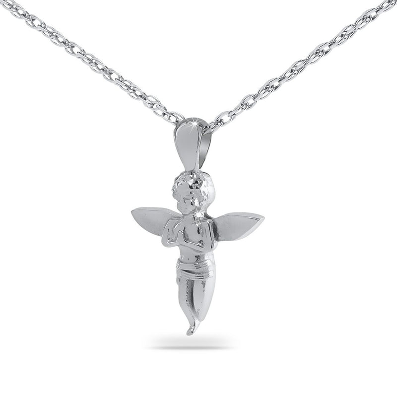 Baby Angel Cremation Necklace