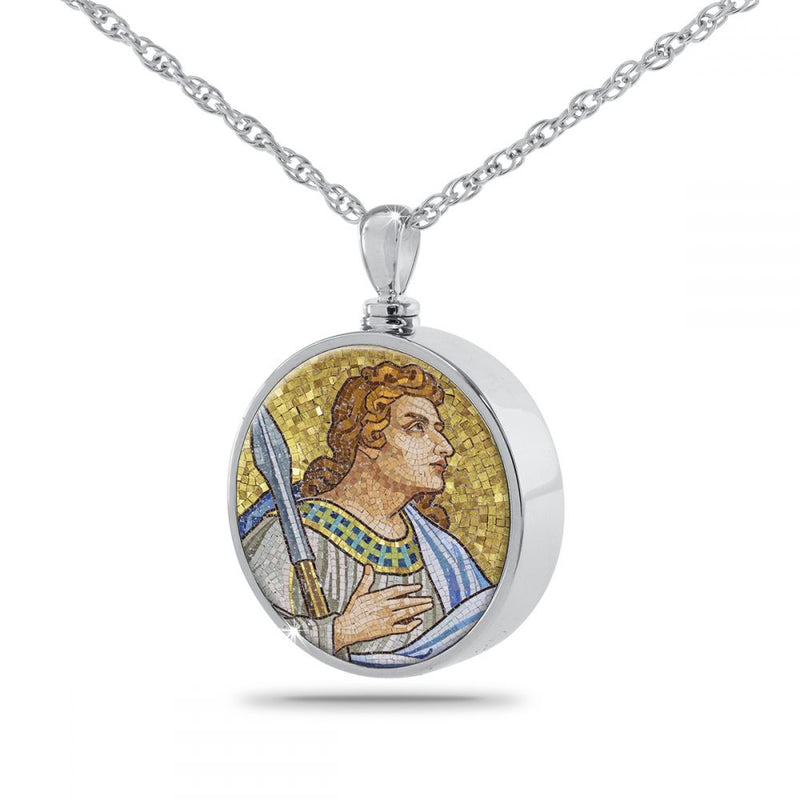 Thomas Religious Cremation Urn Necklace