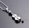 Little Violin Cremation Necklace