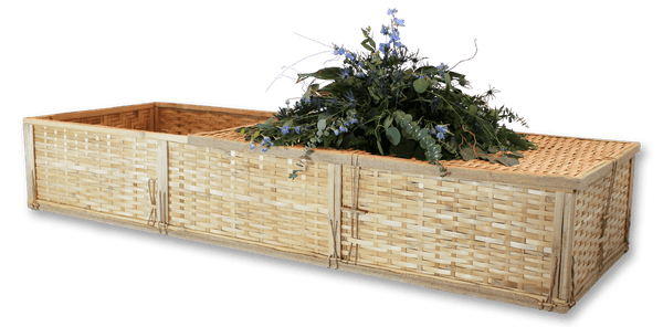 Bamboo Cremation Container