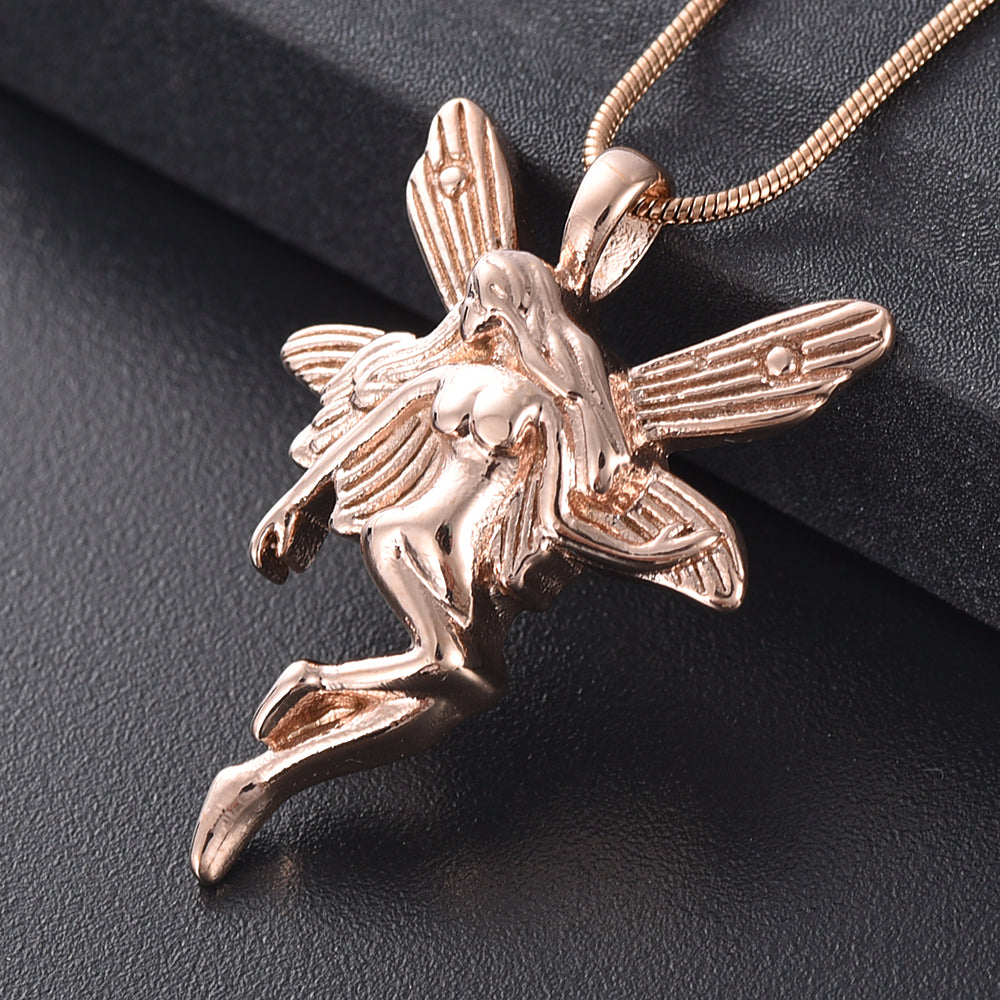 Fairy Angel Cremation Necklace