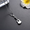 Classic Guitar Urn Necklace