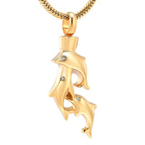 Pod Dolphin Urn Necklace