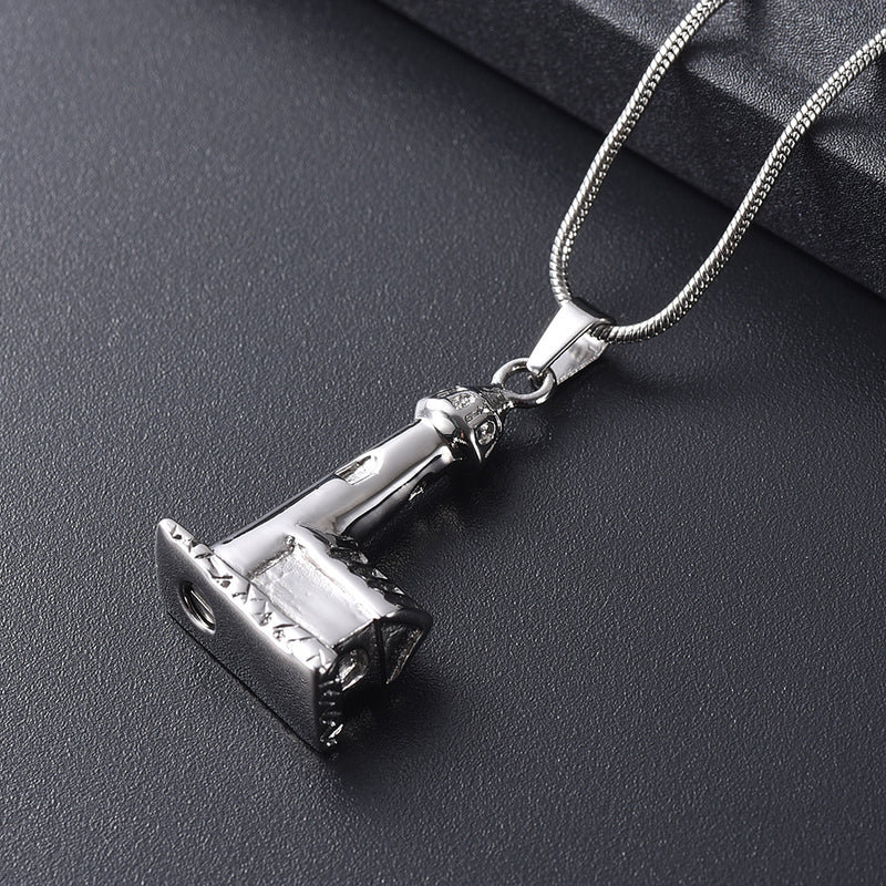 Lighthouse Urn Necklace