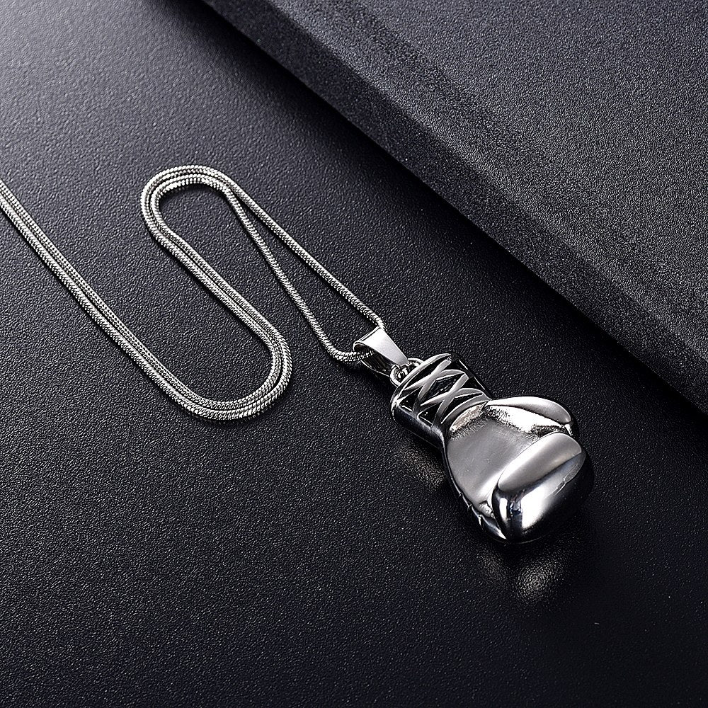 Boxing Cremation Necklace