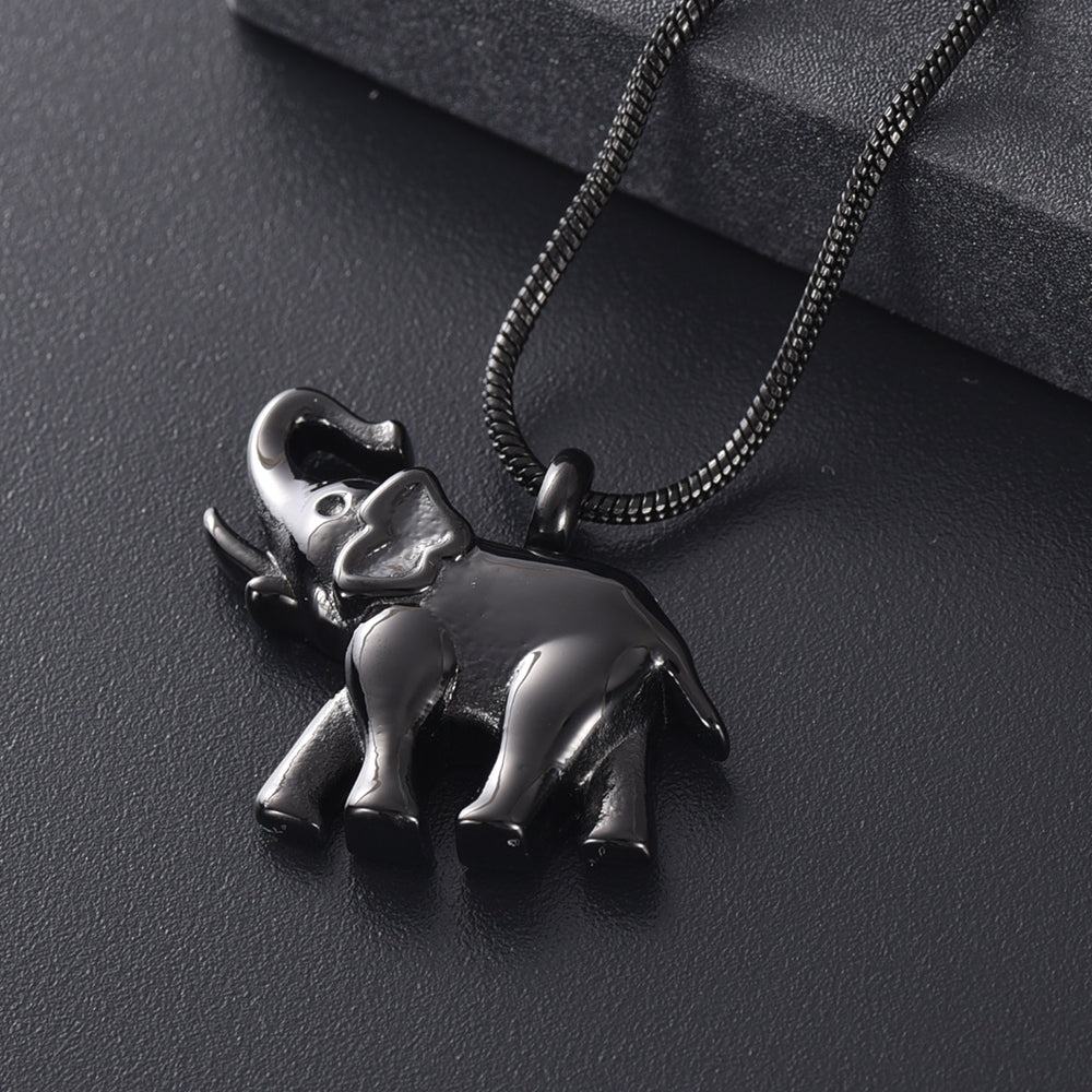 Elephant Urn Necklace