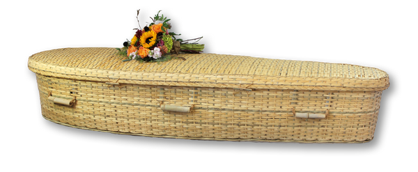 Simple Bamboo Casket