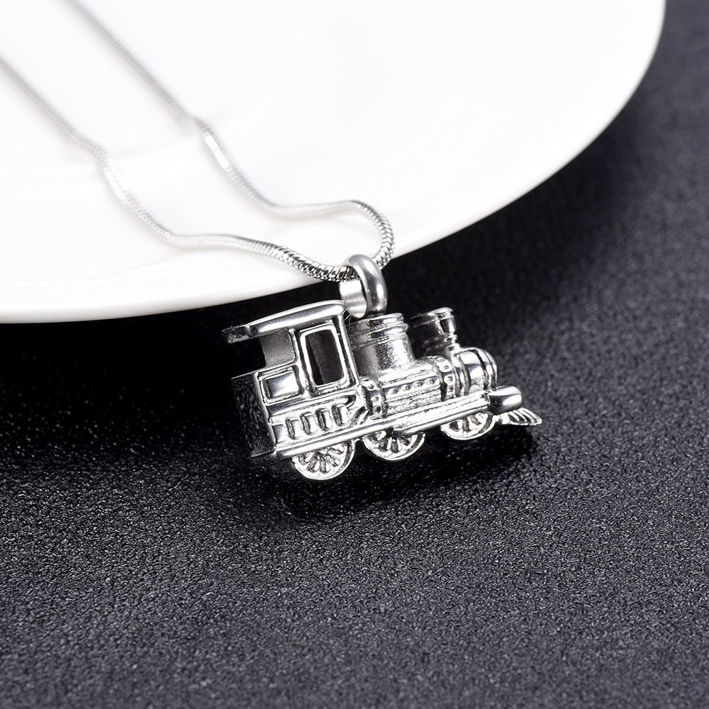 Polar Express Cremation Necklace