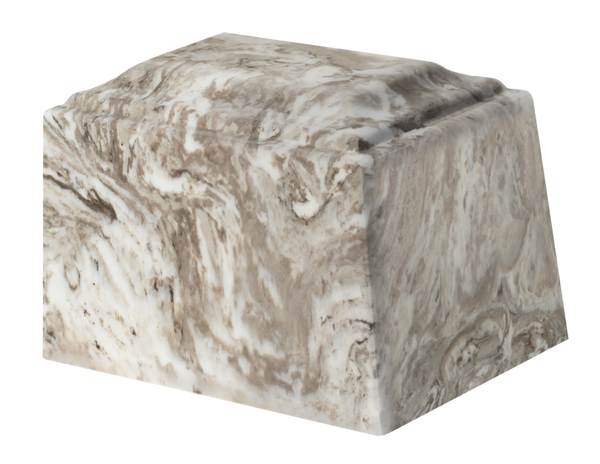 Mini Perlato Tuscany Cultured Marble Urn