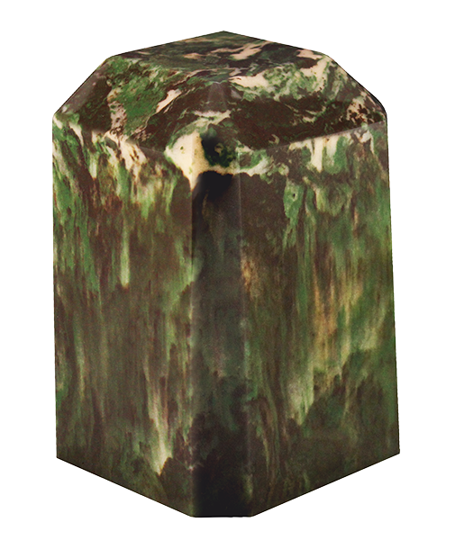 Camo Keepsake Square Cultured Marble Urn