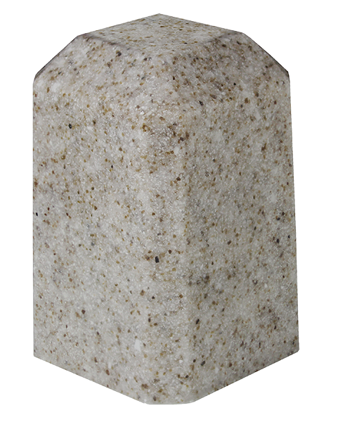 Sandstone Keepsake Square Cultured Marble Urn
