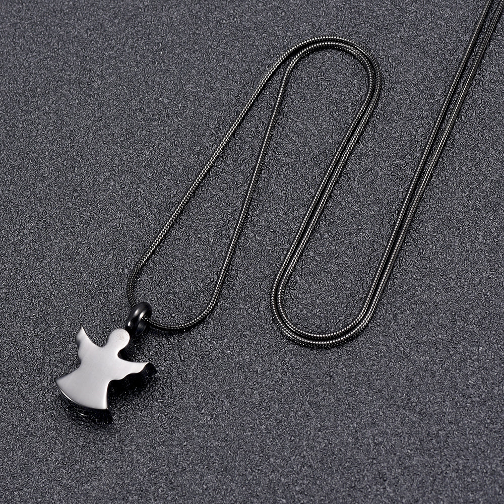 Little Guardian Angel Cremation Necklace