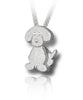 Wagging Puppy Cremation Necklace