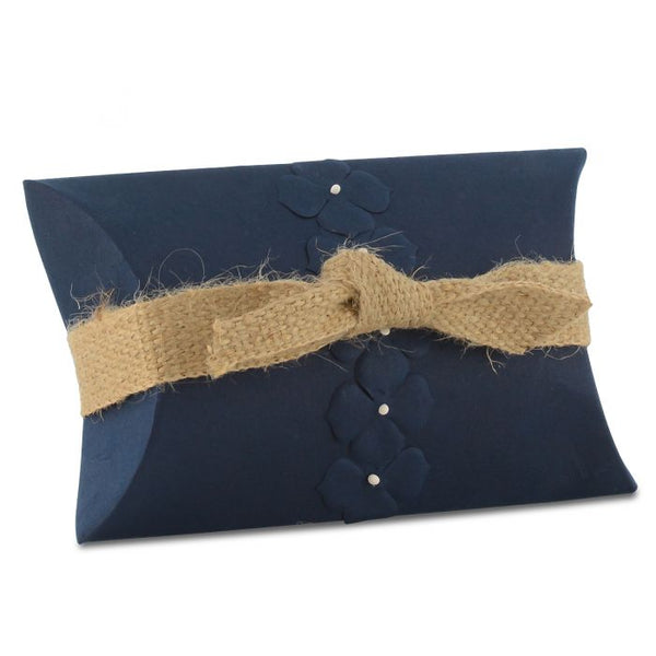 Peaceful Keepsake Pearl Blue Pillow Burial Urn