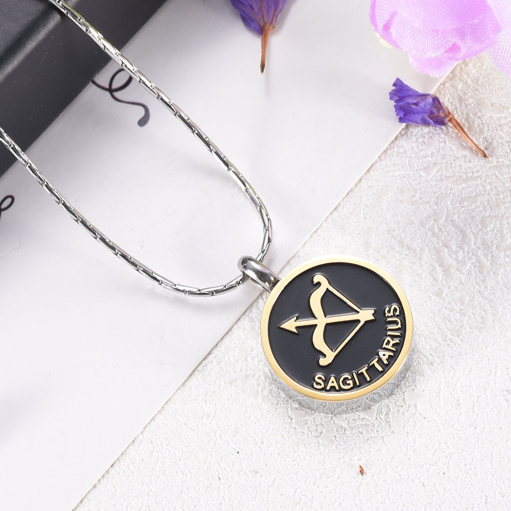 Sagittarius Cremation Necklace