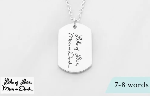 Boyfriend Name Necklace