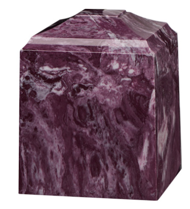 Cultured Marble Cremation Urn
