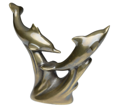 Jumping Dolphins Keepsake Cremation Urn
