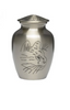 Hand Etched Cat Cremation Urn