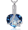Forever in Love Heart Cremation Necklace