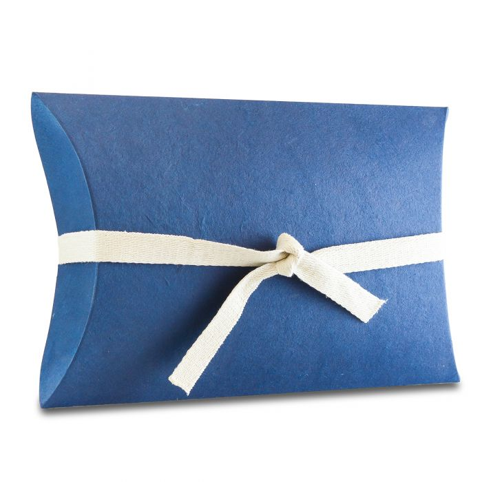 Simple Blue Pillow Water Burial Urn