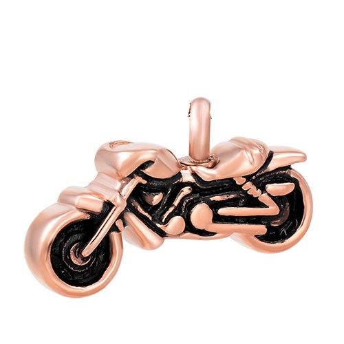 Sport Motorcycle Cremation Necklace