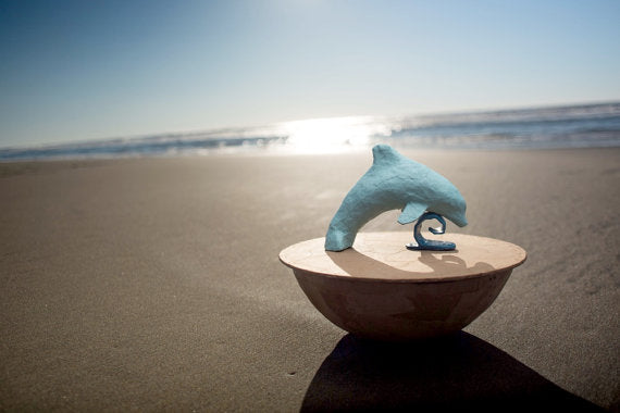 Dolphin Biodegradable Urn