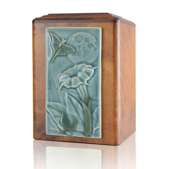 Peaceful Flying Butterfly Urn