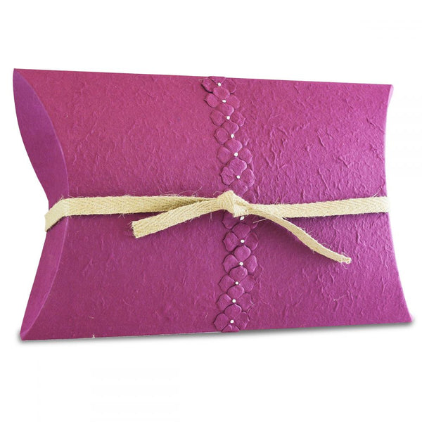 Pearl Purple Biodegradable Companion Pillow Urn