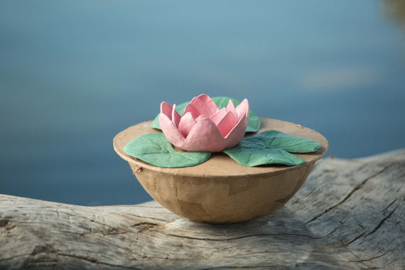 Lotus Biodegradable Urn