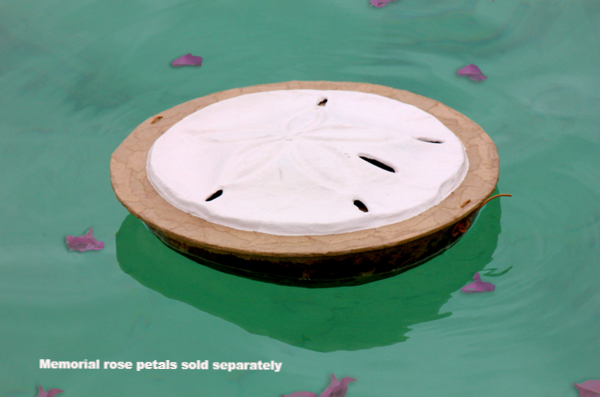 Sand Dollar Biodegradable Urn