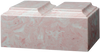 Pink Companion Tuscany Cultured Marble Cremation Urn